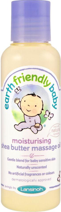 Earth Friendly Baby Hidratáló Masszázsolaj Shea Vajjal 125ml