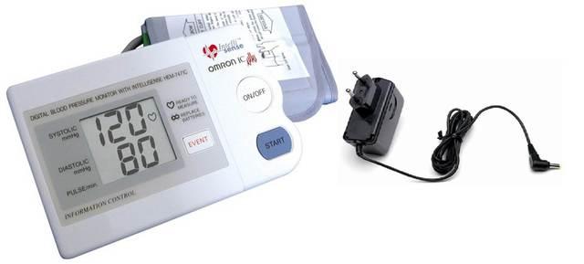 Omron Hem-747ic Vérnyomásmérő + Adapter - Felkaros..