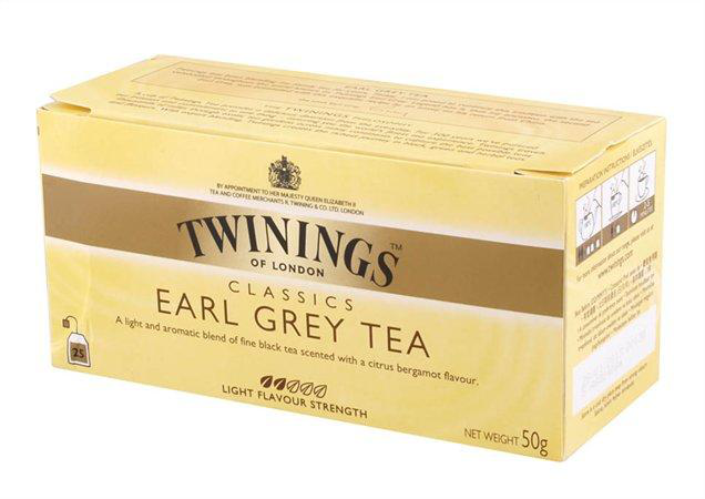 Twinings Earl Grey Fekete Tea 25X2G 50 g