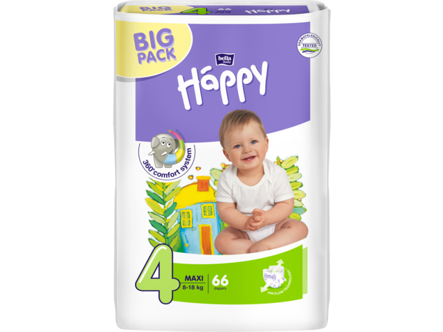 Bella Baby Happy Maxi Big Pack Pelenka (8-18 Kg) 66db