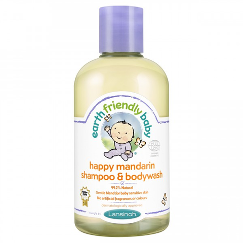 Earth Frendly Baby Efb Mandarinos Sampon és Tusfürdő 250 ml