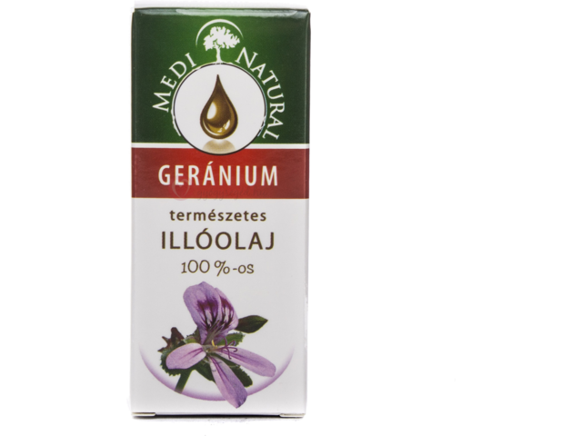 Medinatural Geránium 100% Illóolaj 10 ml