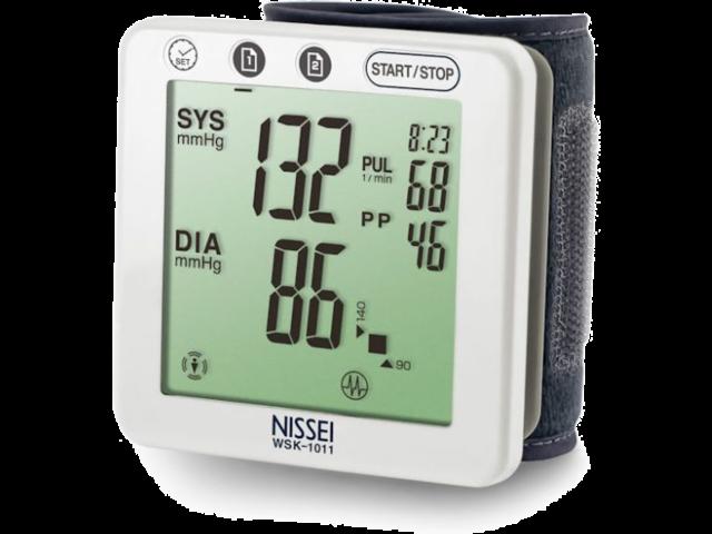 Nissei WSK-1011 csuklós vérnyomásmérő - Csuklós vérnyomásmérő